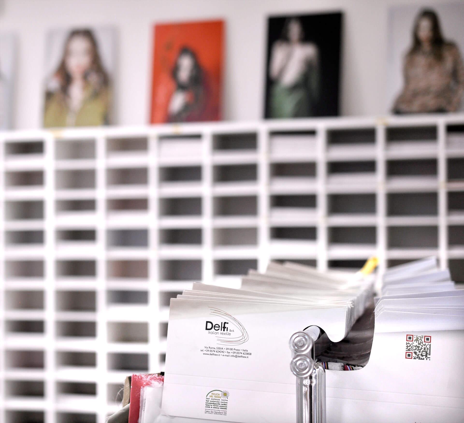 Delfitex - Converter tessile, controllo completo delle fasi produttive